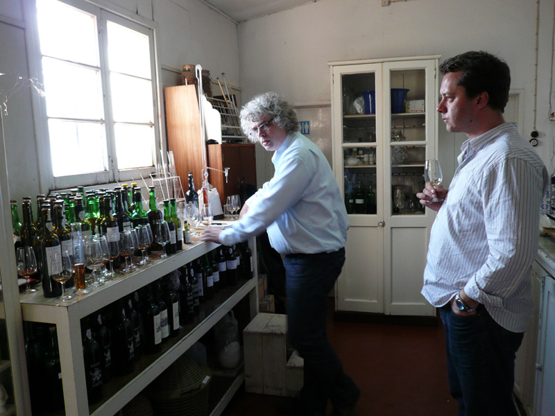 2008 Tasting With Tom Marthisen In The Old Winery